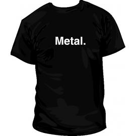 Camiseta Metal