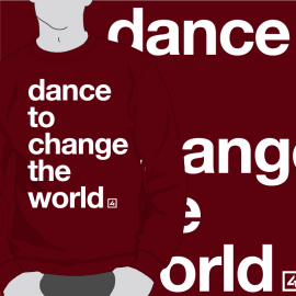 Sudadera Dance Chage the World