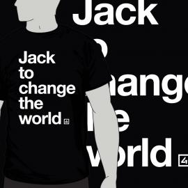 Camiseta Jack to change the world