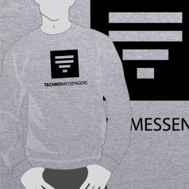 Sudadera Techno Messengers