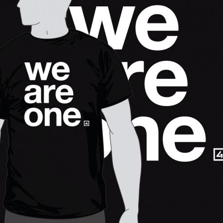 Camiseta We Are One