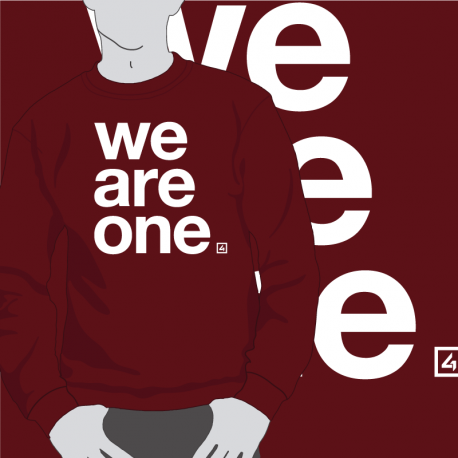 Sudadera We Are One
