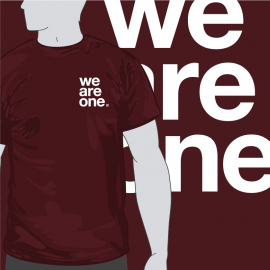 Camiseta We are One Escudo